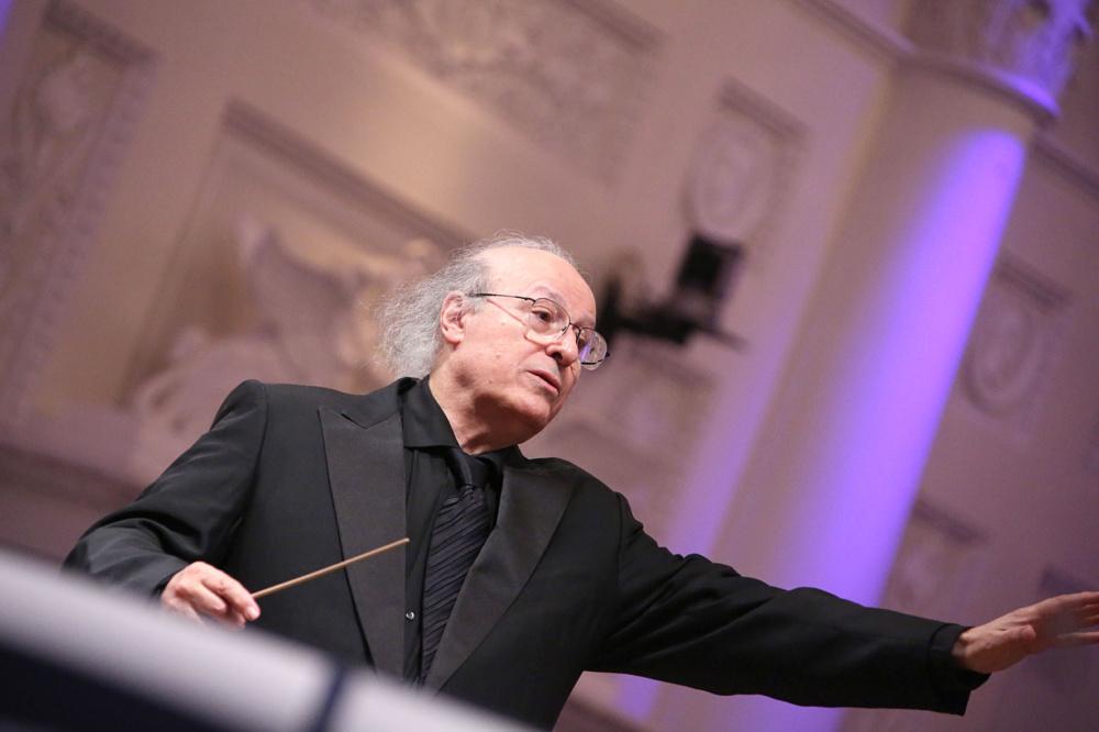 Eliahu Inbal © Sverdlovsk State Philharmonic