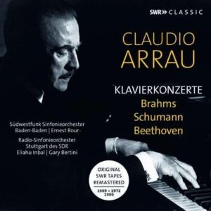Arrau Klavierkonzerte Brahms Schumann Beethoven