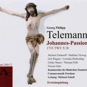 Telemann Johannes Passion