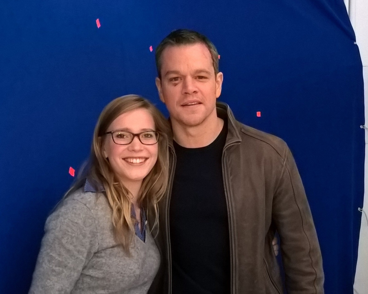 FS mit Matt Damon